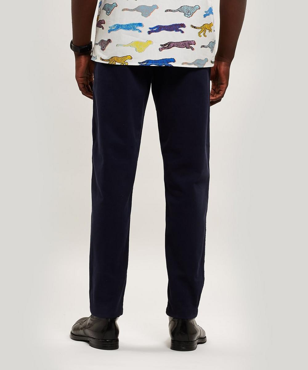 Drawstring Twill Trousers