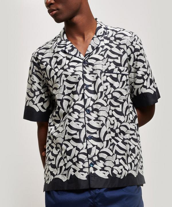 Nasrine Tana Lawn Cotton Short Sleeve Shirt