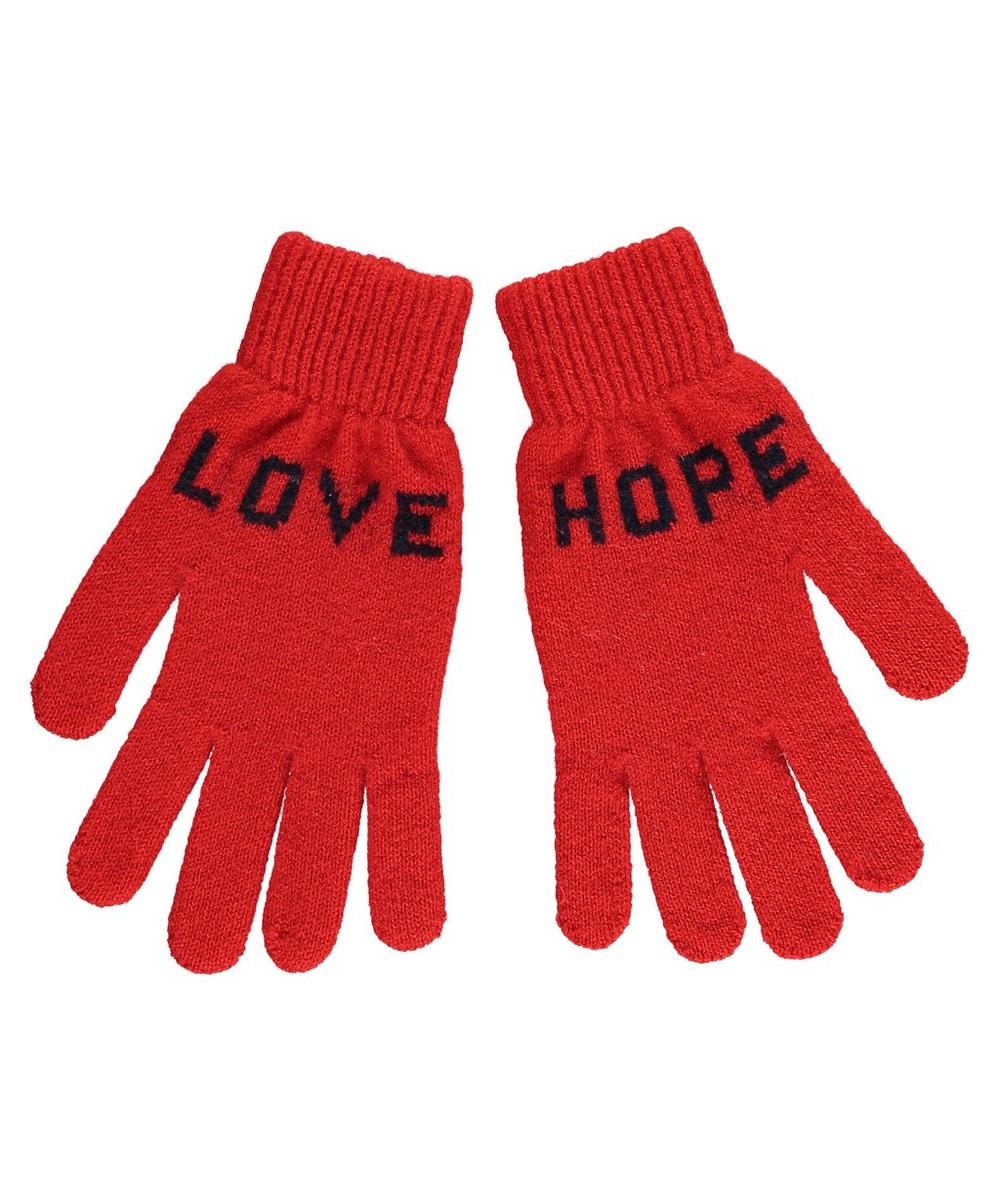 Love Hope Wool Gloves