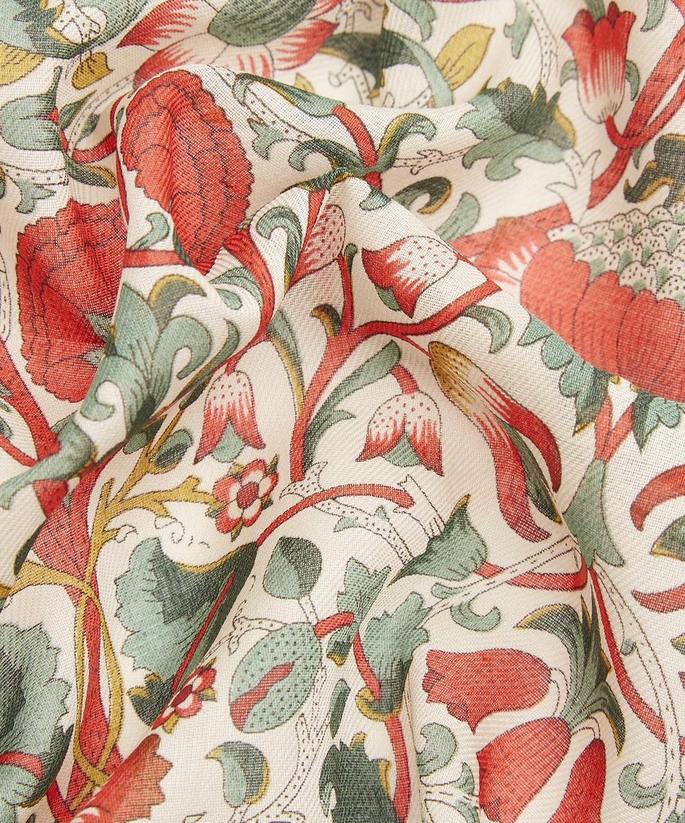 Intricate Flowers Cotton Handkerchief