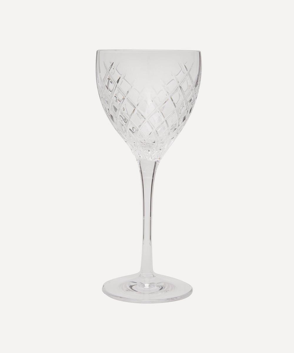 Barwell Cut Crystal Red Wine Glasses Set of Six