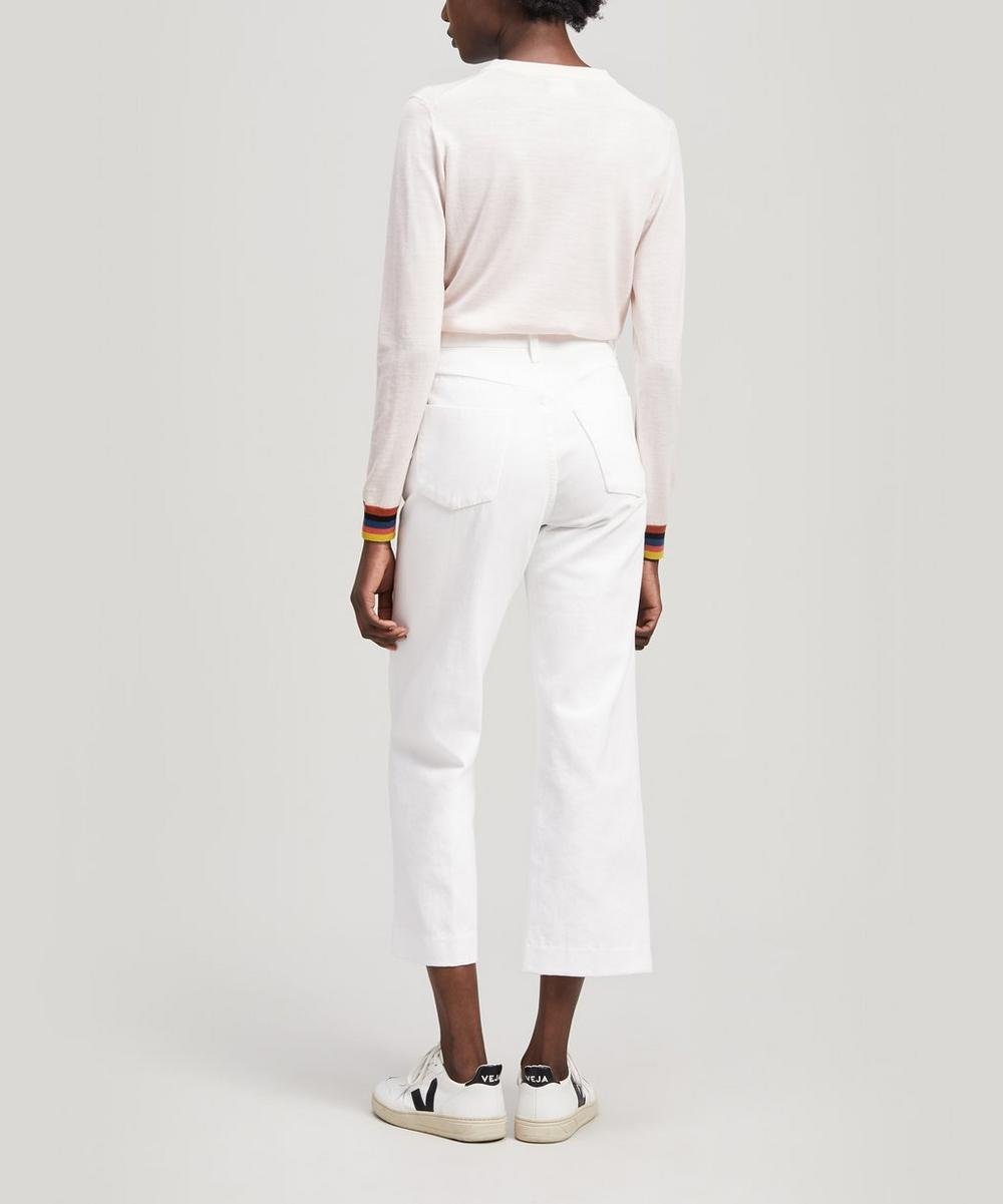 Joan High-Rise Crop Flare Jeans