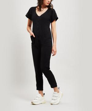 Margerie Lyocell Short-Sleeve Jumpsuit