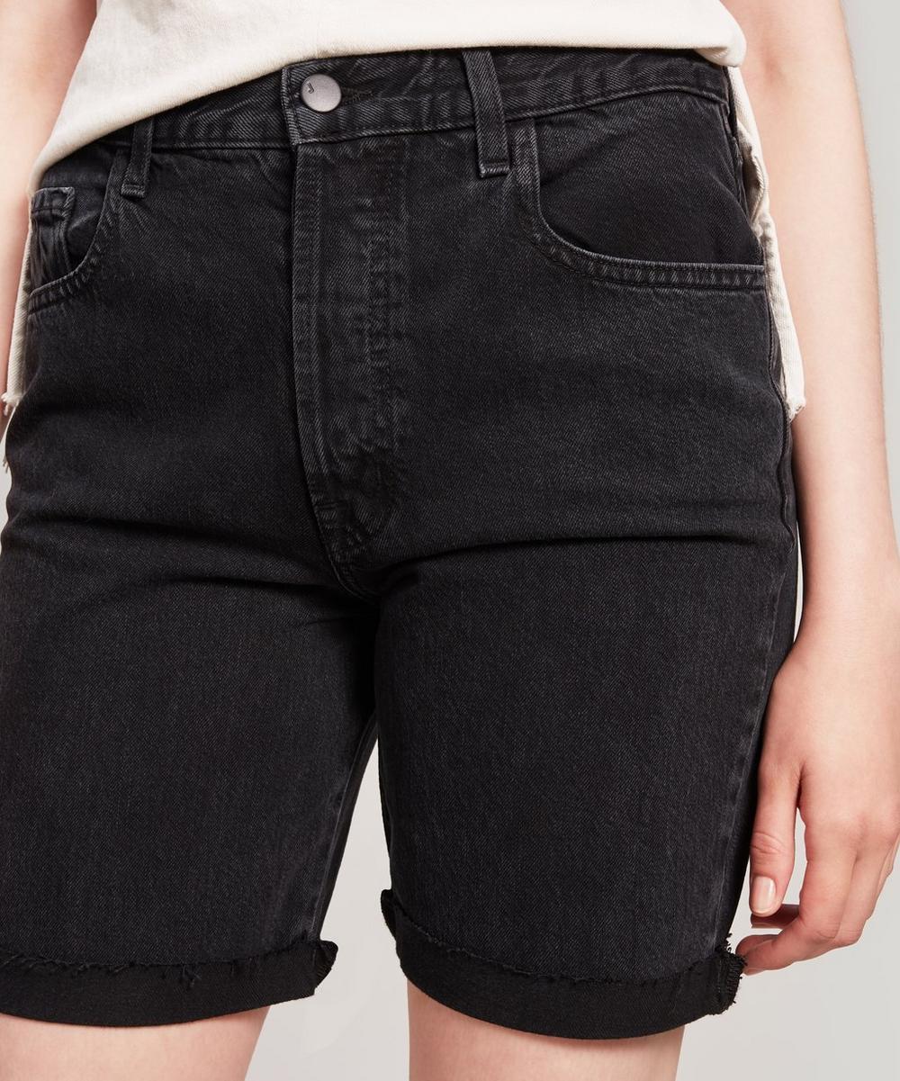Billey High-Rise Denim Shorts