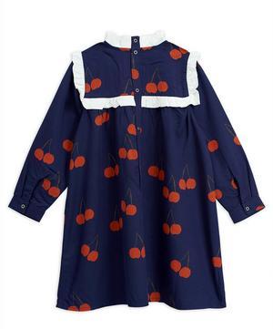 Cherry Woven Frill Dress 12-18 Months