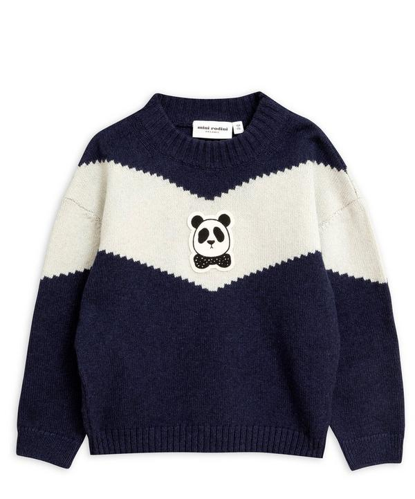 Panda Knitted Wool Sweater 2-8 Years