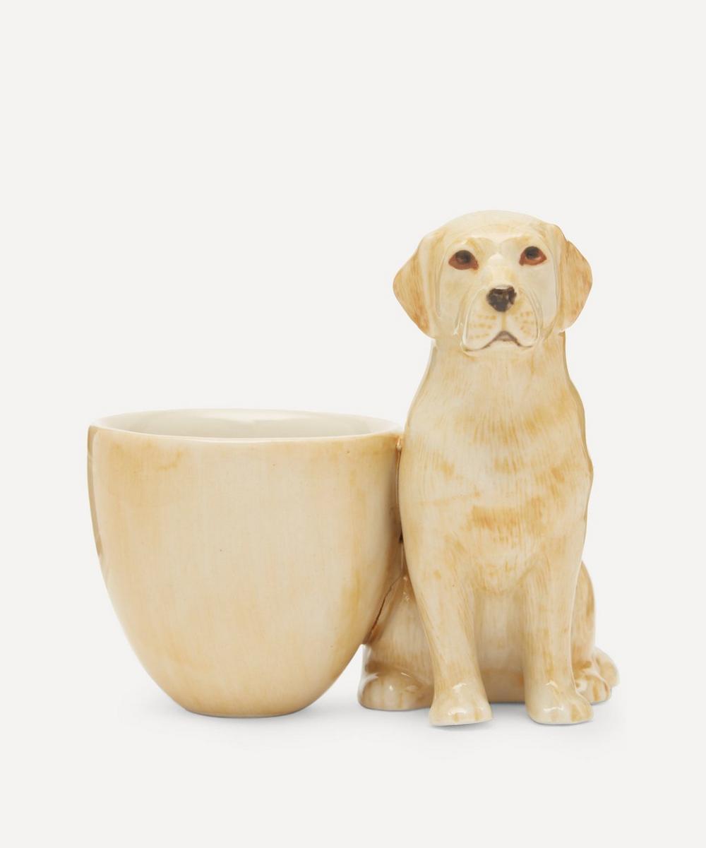 Quail - Labrador Egg Cup