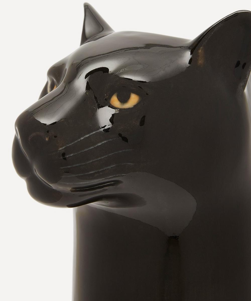 Large Panther Vase