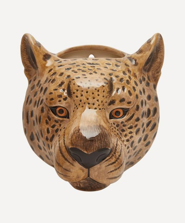 Quail - Leopard Wall Vase
