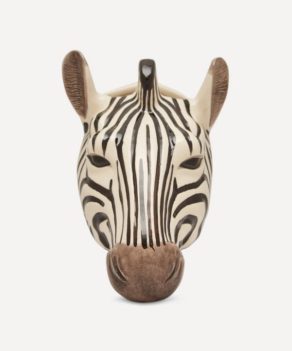 Quail - Zebra Wall Vase