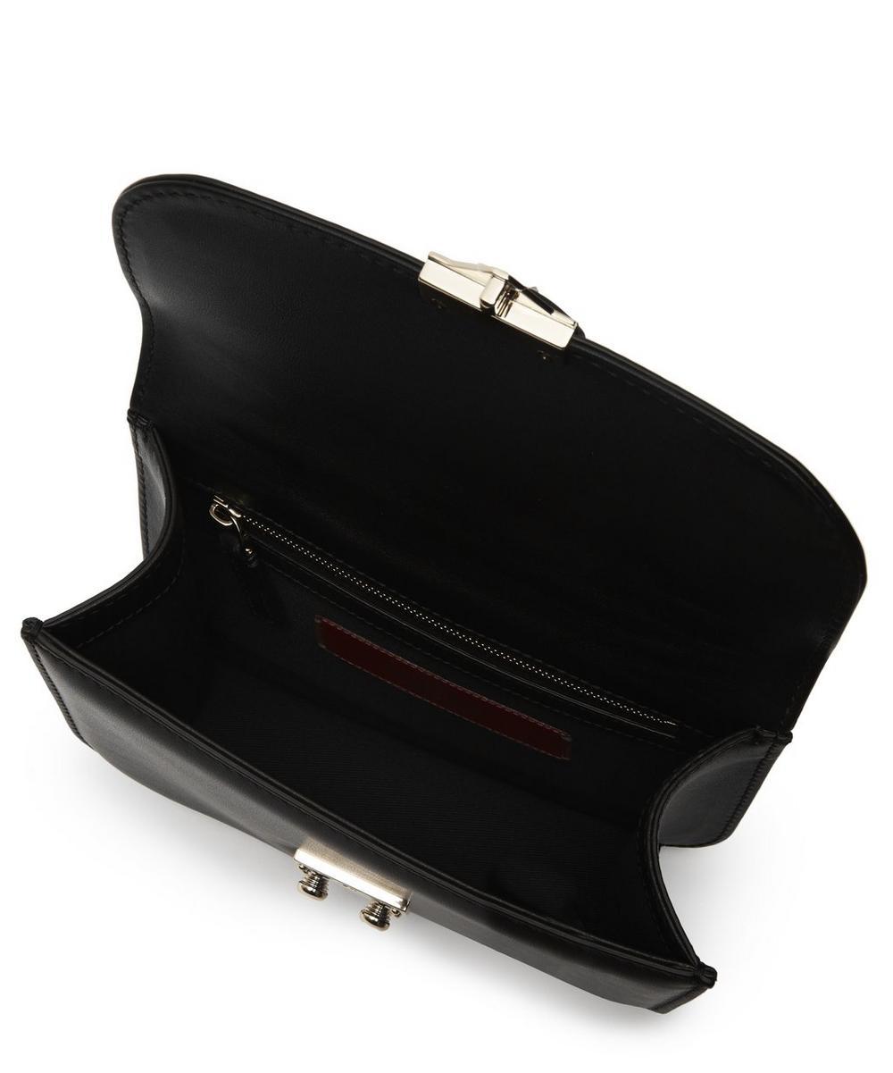 Small Leather Rockstud Cross-Body Bag