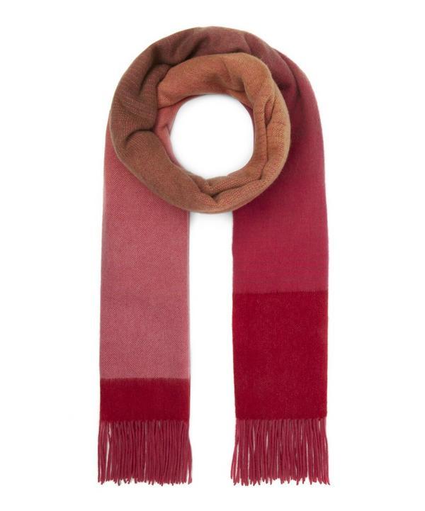 bb33f60a1dd Ombre Stripe Wool-Blend Scarf ...