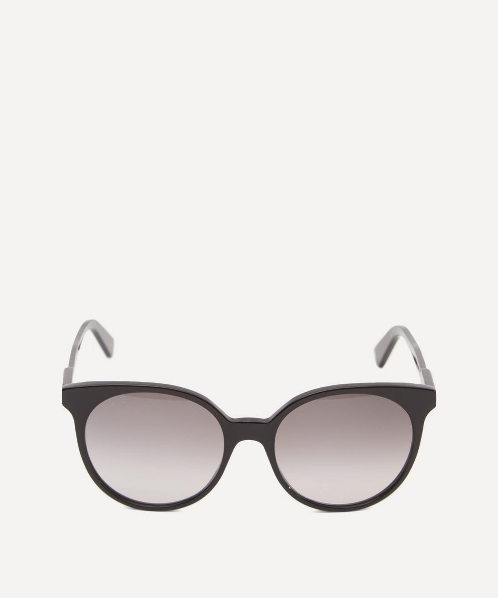 Gucci Wayfarer Slim Acetate Sunglasses In Black
