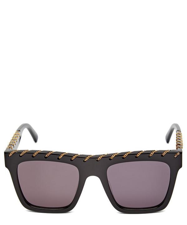 e7e226e21f0 Falabella Chain Square Sunglasses ...