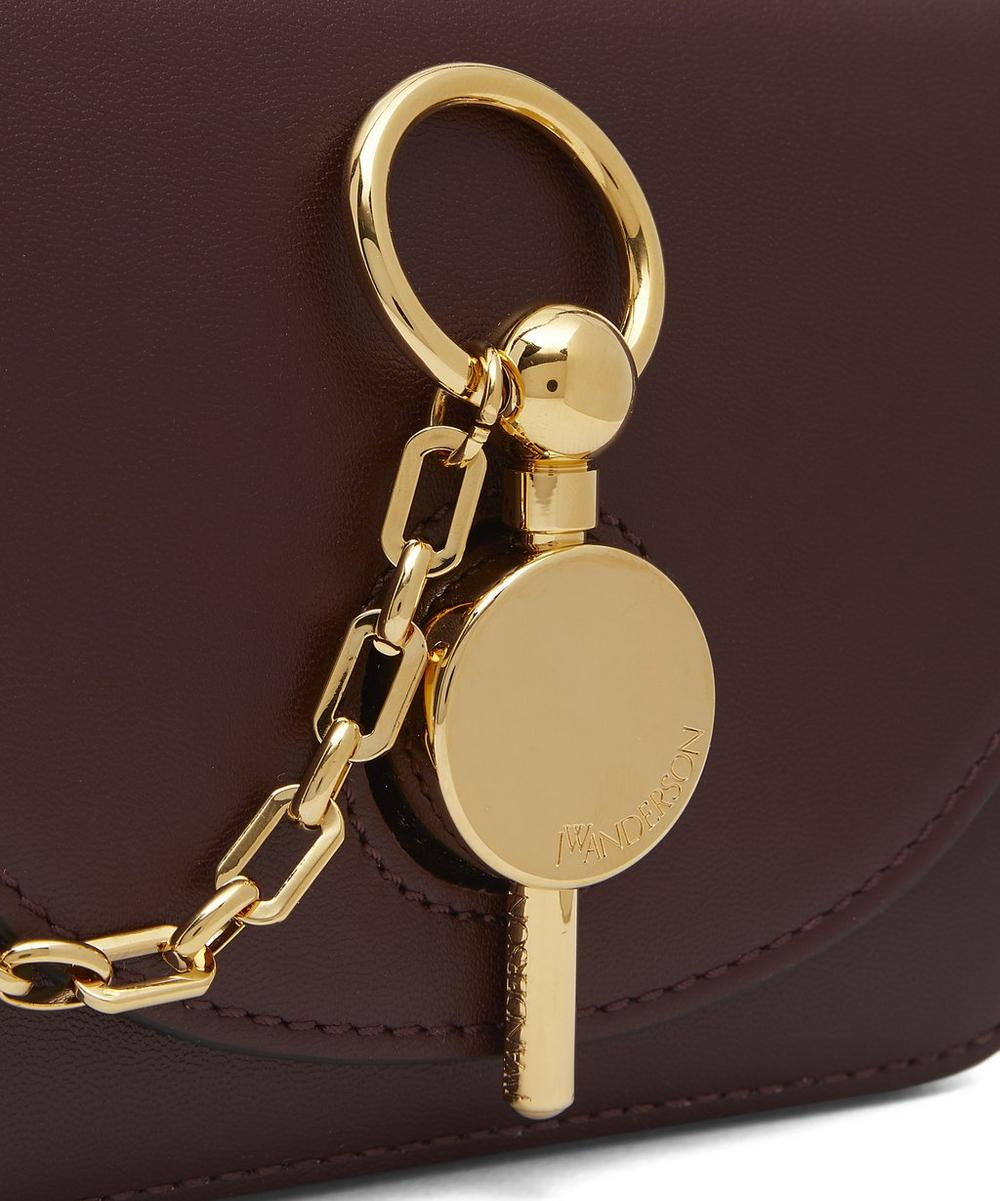 Nano Keyts Leather Cross-Body Bag