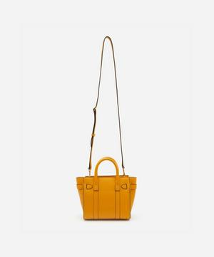 Micro Bayswater Zipped Leather Handbag