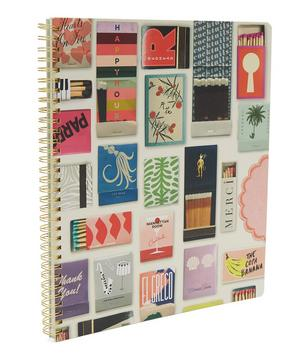Large Strike A Match Notebook