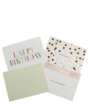 Birthday Card Stationery Set