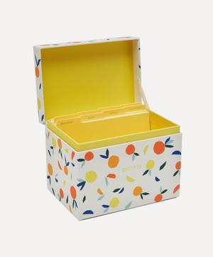 Citrus Twist Recipe Box