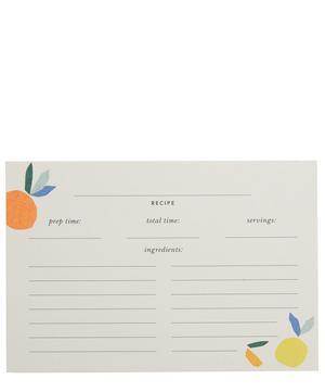Citrus Twist Recipe Card Refills