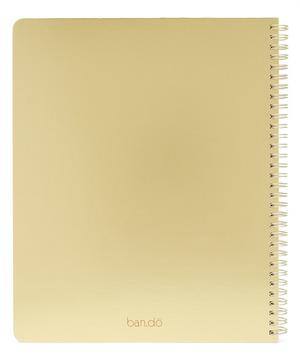 Rough Draft Forever Busy Large Notebook