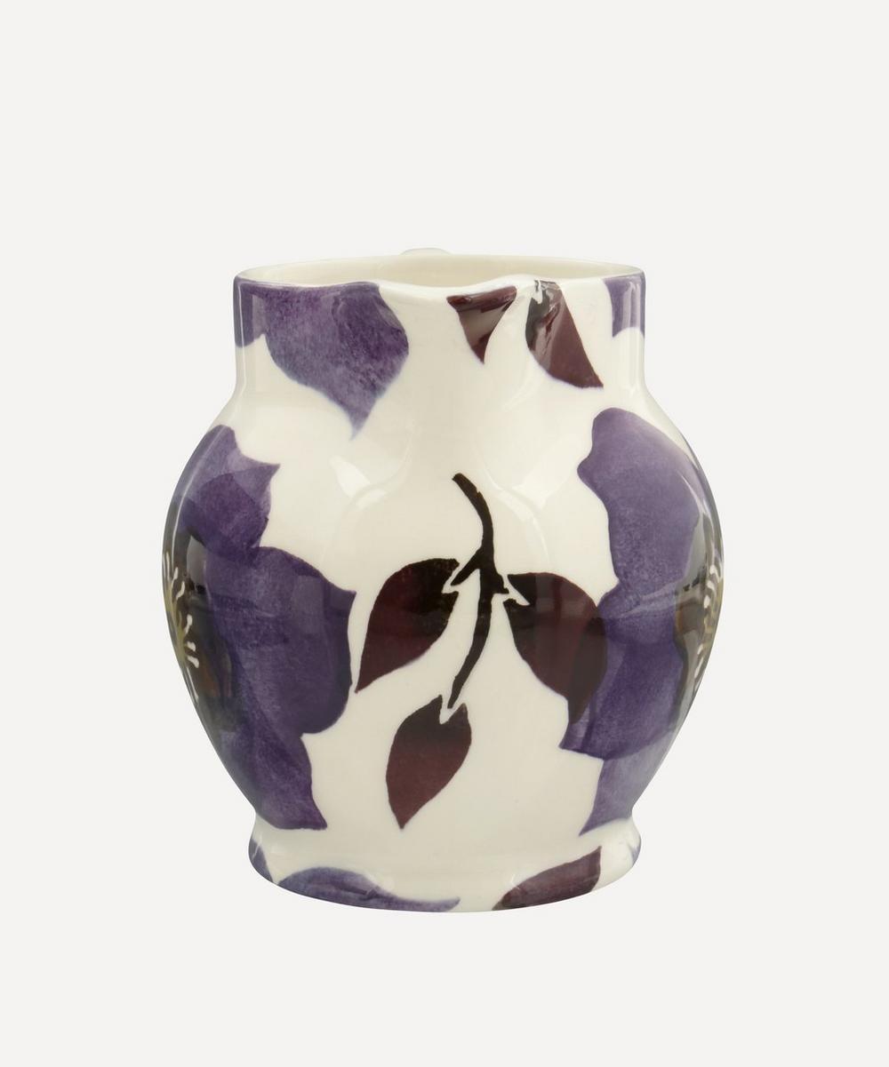 Purple Hellebores Half-Pint Jug