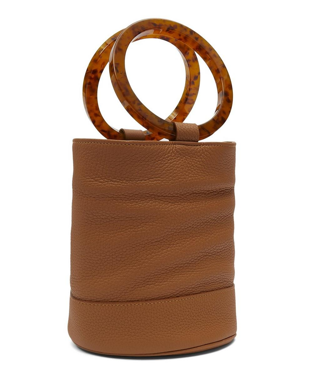 Bonsai 20 Medium Leather Bucket Bag
