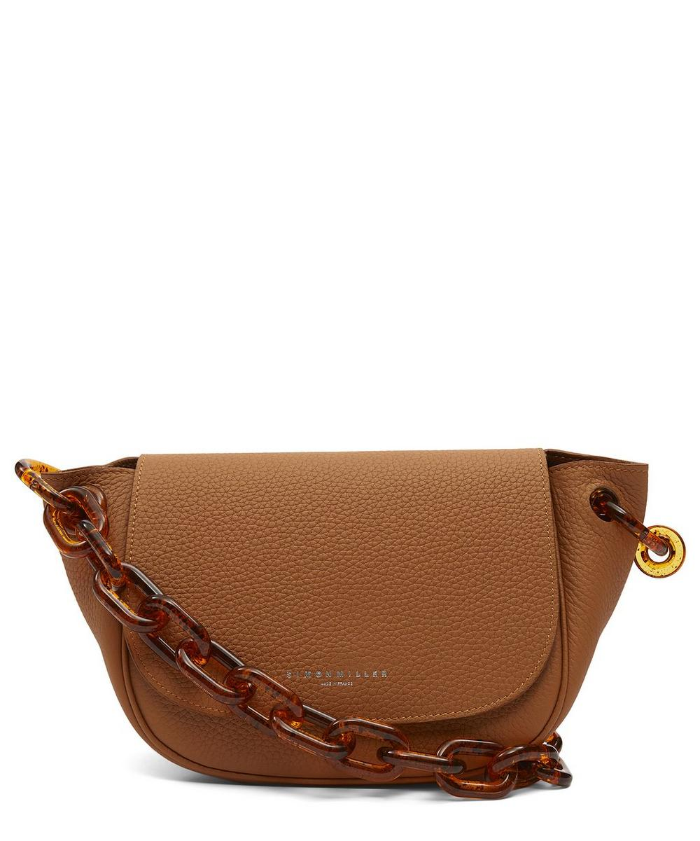 Bend Leather Shoulder Bag