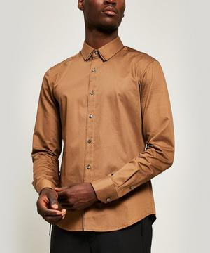 Double Collared Cotton Shirt
