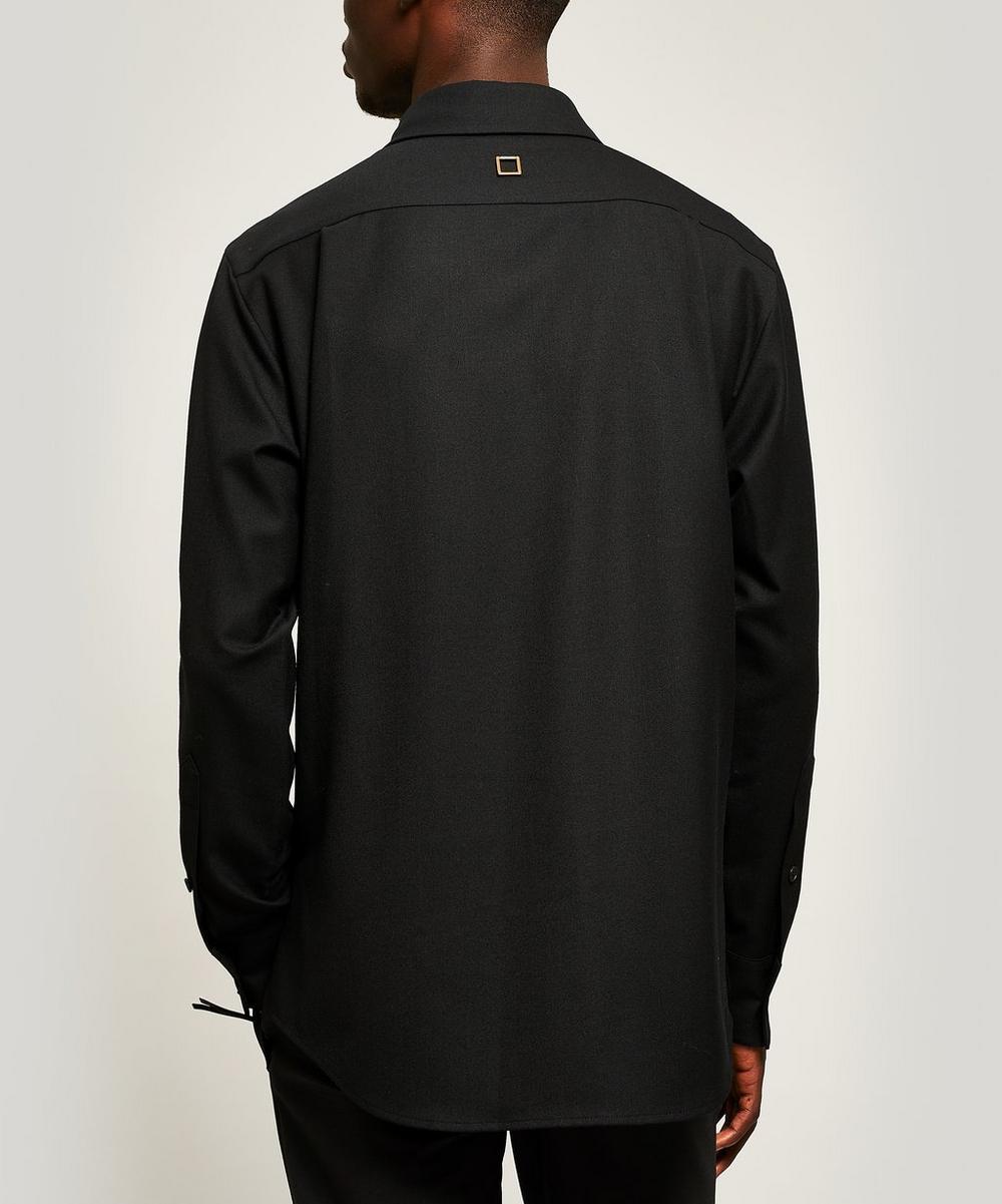 Button Collar Long-Sleeve Shirt
