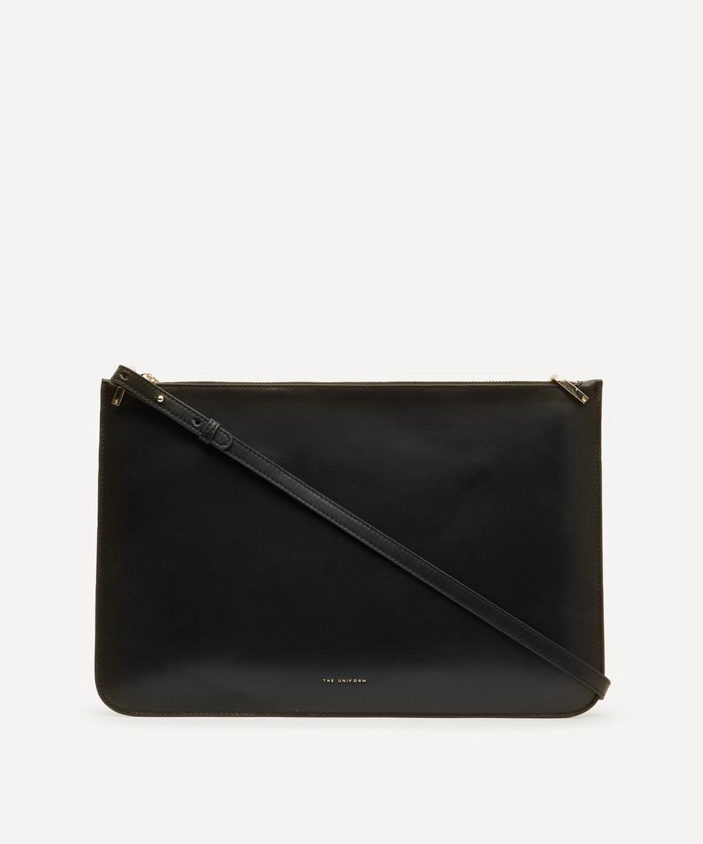 The Uniform Leather Ipad Case In Black