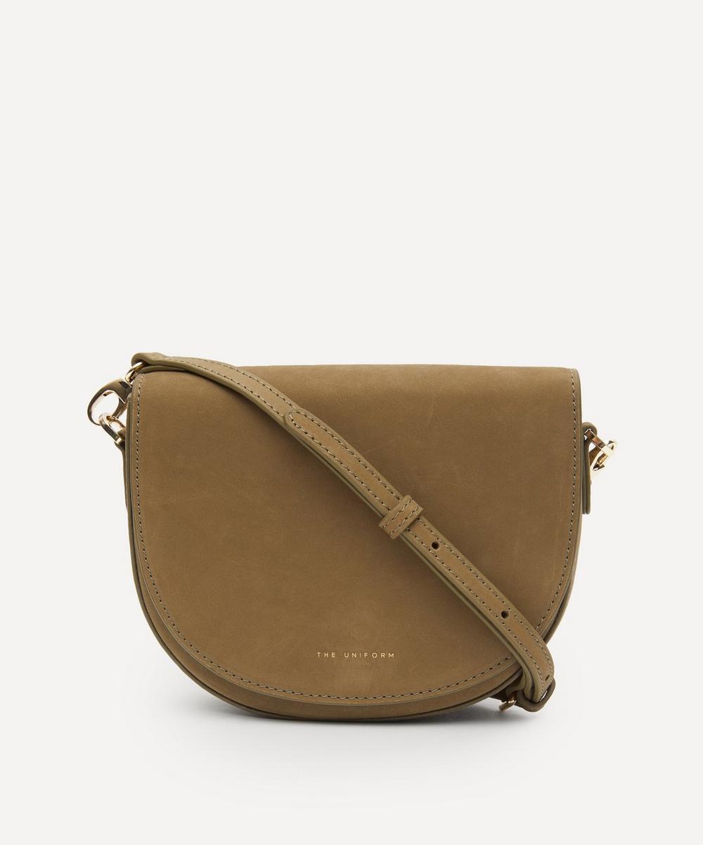 THE UNIFORM - Mini Leather Saddle Bag