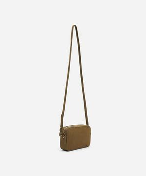 Leather Cross-Body Box Bag