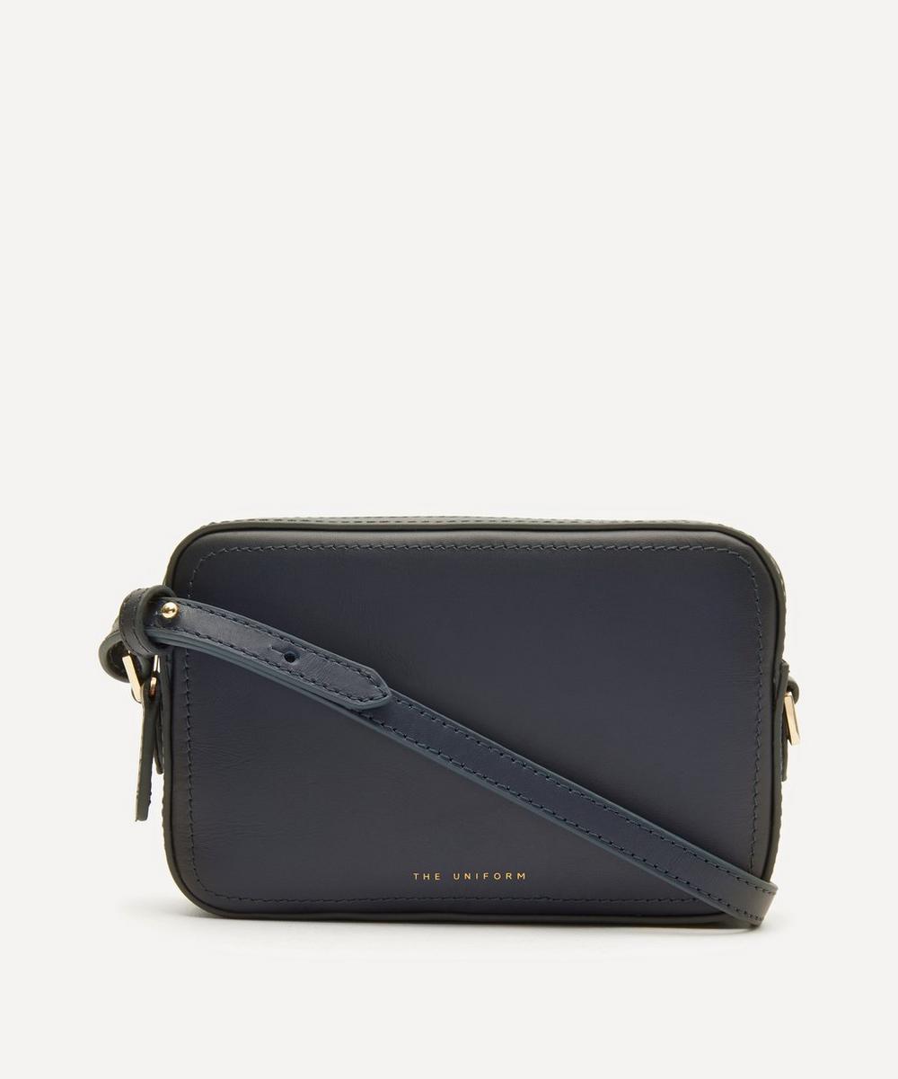 THE UNIFORM - Leather Cross-Body Box Bag