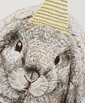 A3 Party Bunny Print