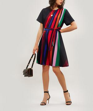 Live Faster Stripe Dress