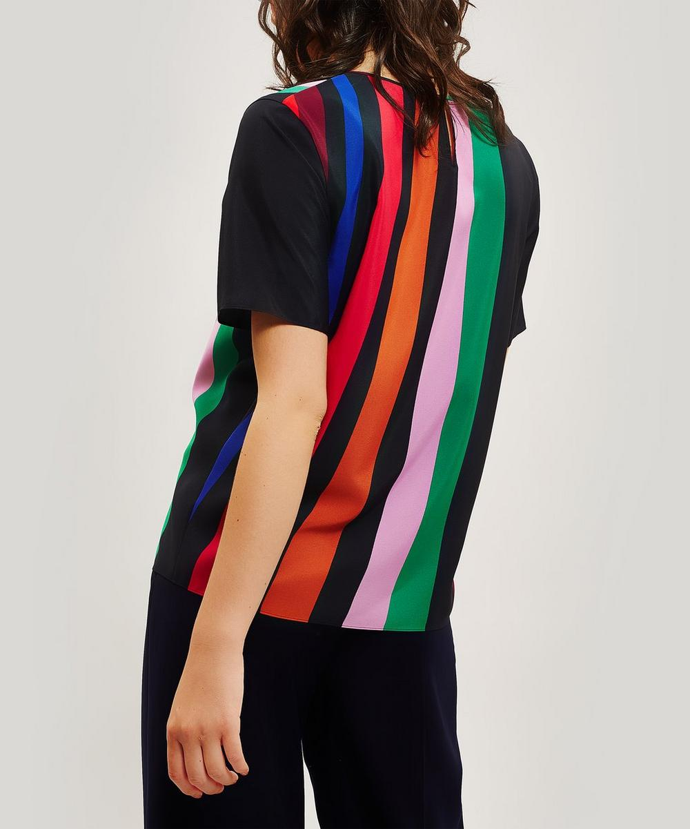 Live Faster Stripe T-Shirt