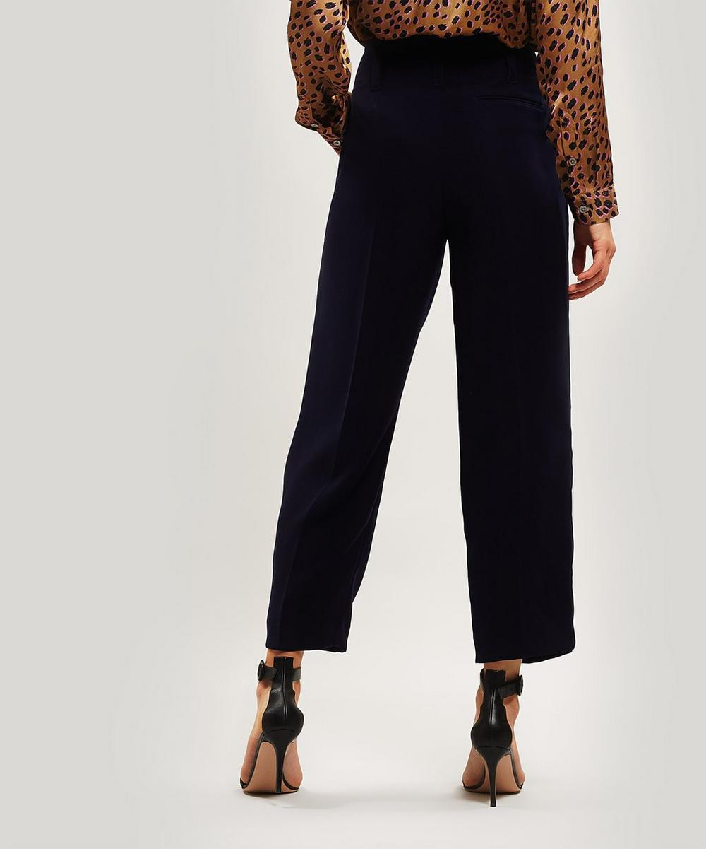 Wide-leg Tuxedo Trousers