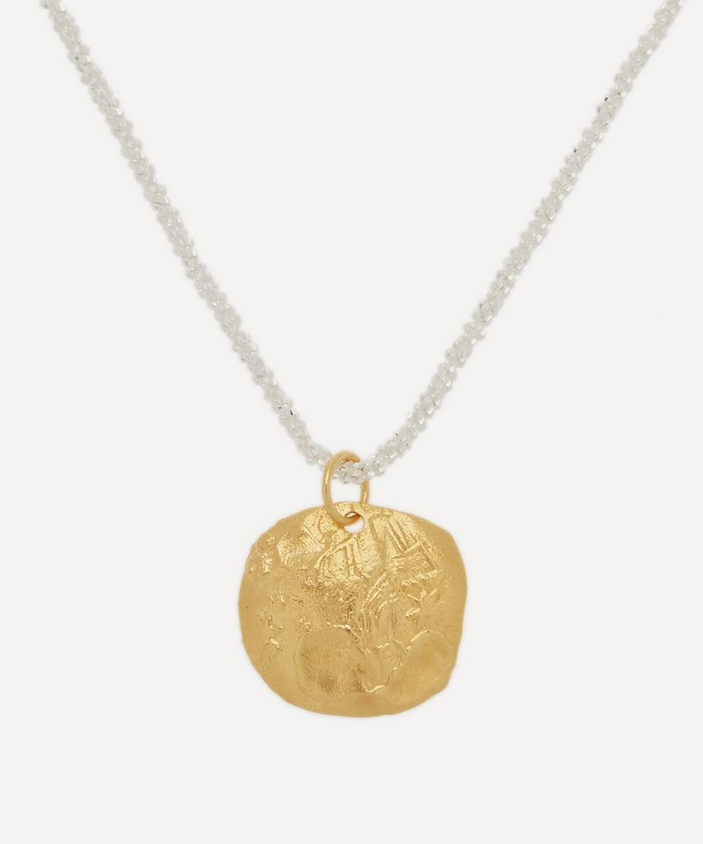 Alighieri - Gold-Plated Captured Memory Necklace