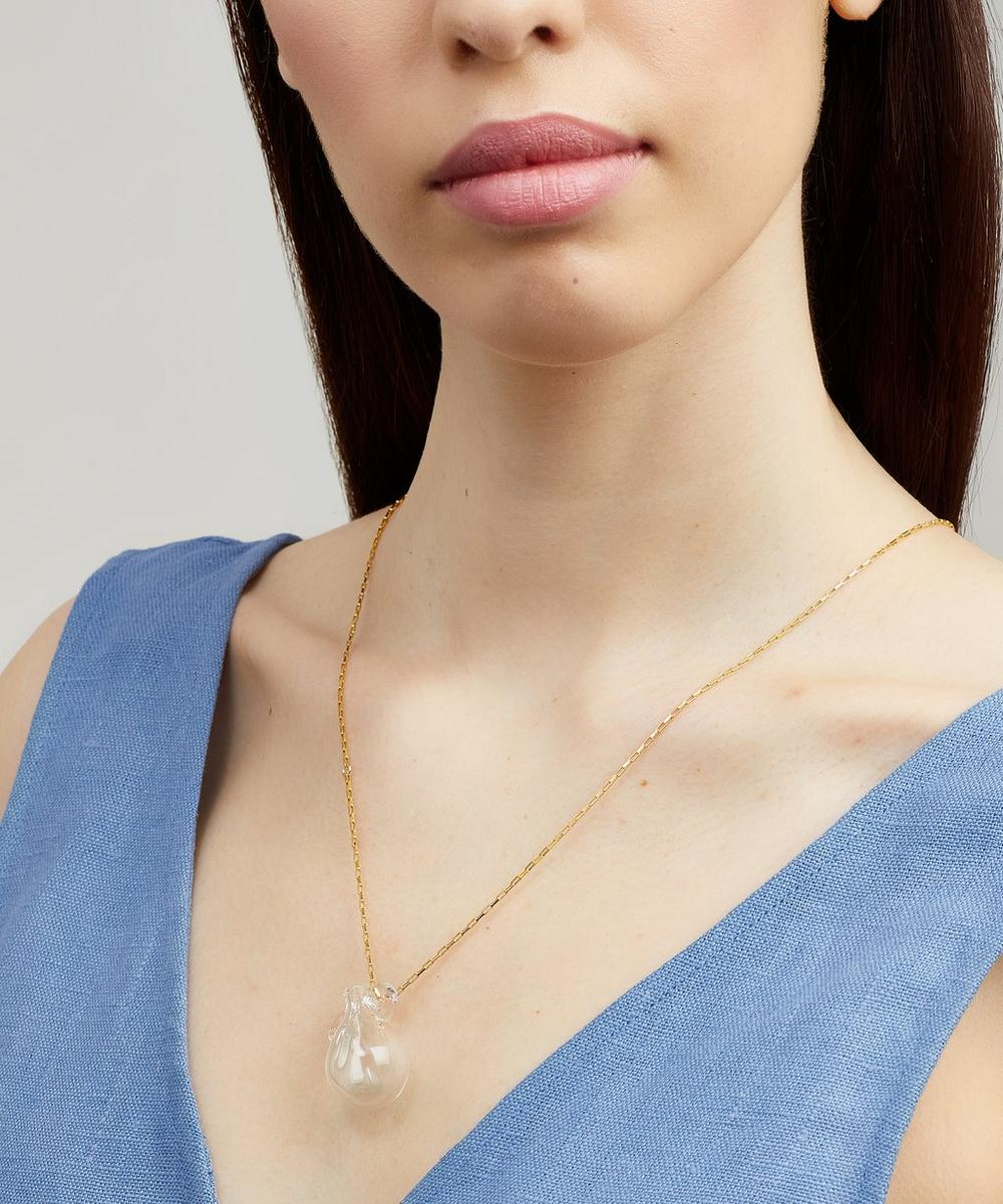 Gold-Plated The Spellbinding Tear Catcher Necklace