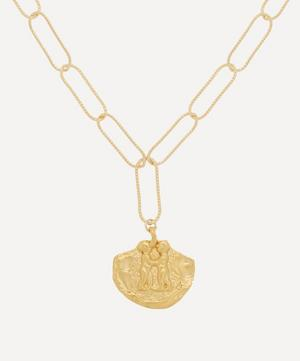 Gold-Plated Paola and Francesca Necklace