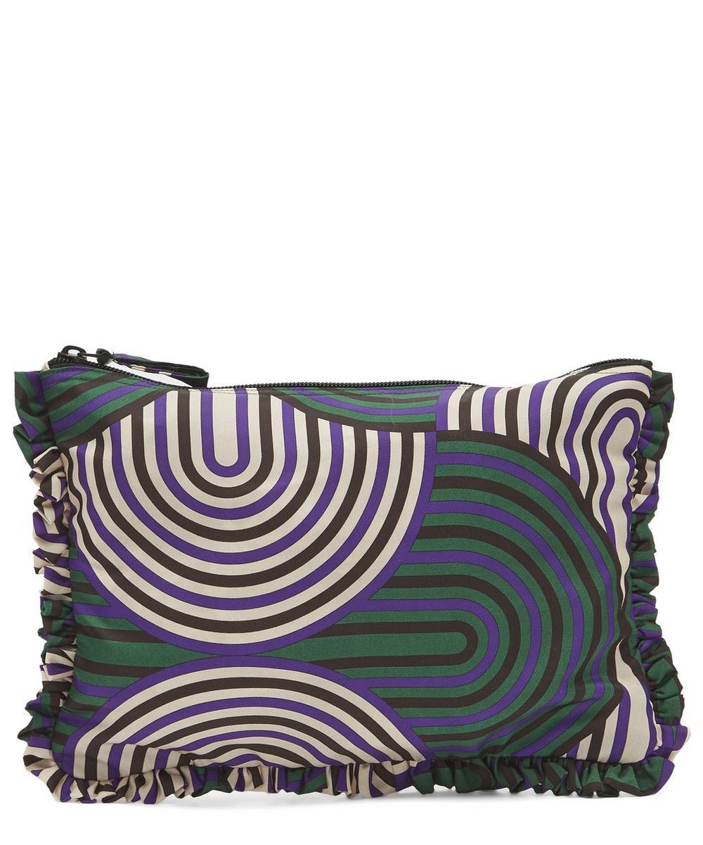 La Doublej Hand Pochette Clutch Bag In Slinky