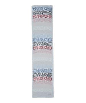 Anagram Wool-Blend Scarf