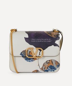 Undercover V-Sling Leather Shoulder Bag
