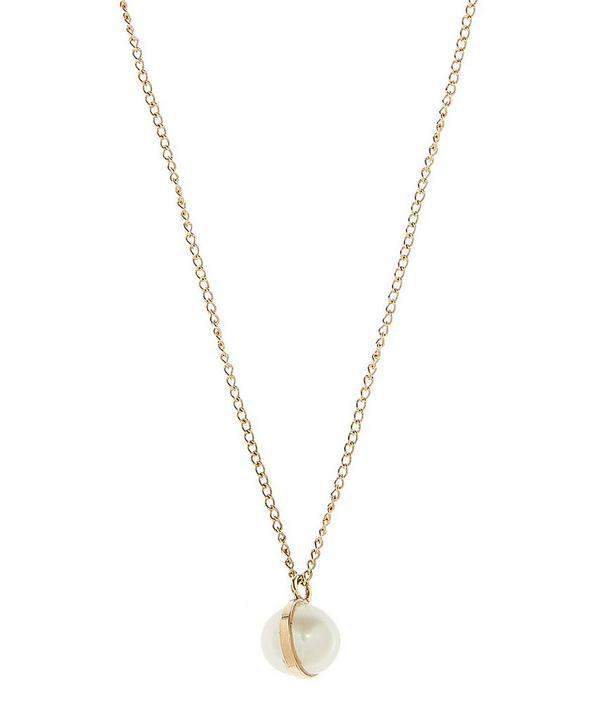 402ab779b Gold Bezel Wrapped Pearl Pendant Necklace Gold Bezel Wrapped Pearl Pendant  Necklace · 0 · Quick View. Melissa Joy Manning