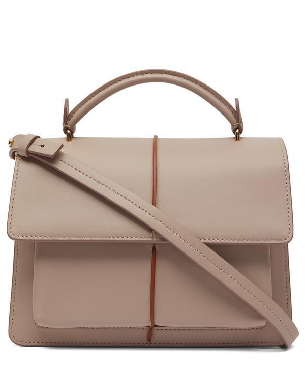Attaché Leather Cross-Body Bag