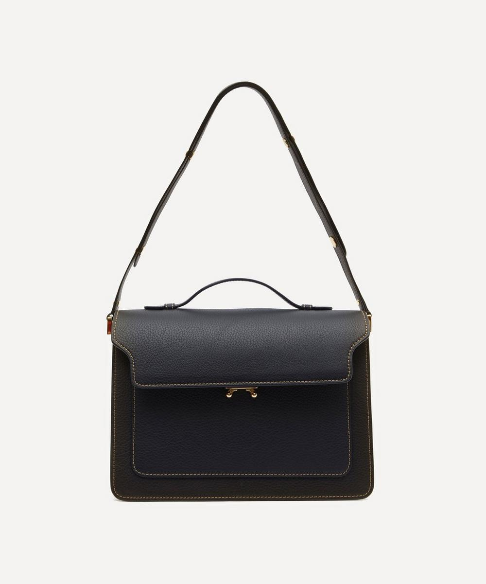 Trunk Large Leather Shoulder Bag