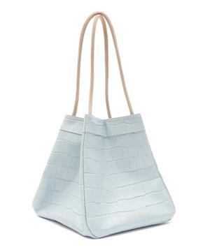 Rita Croc-Effect Leather Handbag