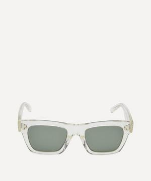 Crystal Square Acetate Sunglasses