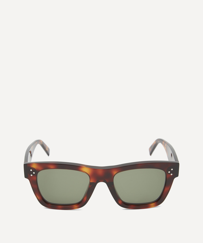 2063161df738 Tortoiseshell Square Acetate Sunglasses | Liberty London